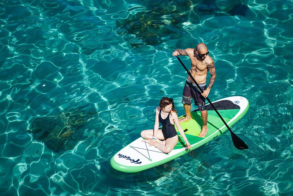 Paddle surfr en Ibiza